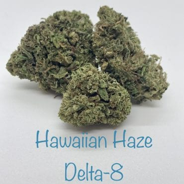 Hawaiian Haze Delta-8 THC Coated CBD Hemp Flower