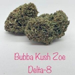 Bubba Zoe Delta-8 THC Coated CBD Hemp Flower