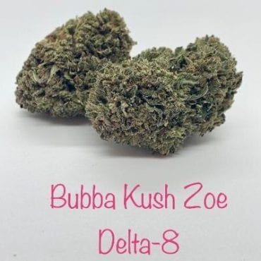 Bubba Zoe Delta-8 THC Coated CBD Hemp Flower