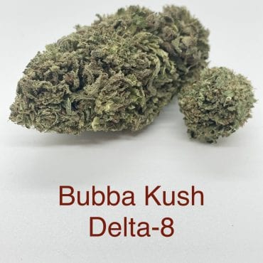 Bubba Kush Delta-8 THC Coated CBD Hemp Flower