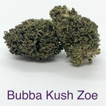 Bubba Kush Zoe Premium CBD Hemp Flower Smokable Bud