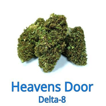 Heavens Door Delta-8 THC Coated CBD Hemp Flower