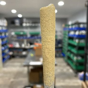 Moon Rocket Delta-8 preroll with Kief coating
